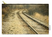 Rural Railroad Tracks Carry-all Pouch