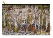 Rural Rustic Rundown Rocky Mountain Cabin Carry-all Pouch