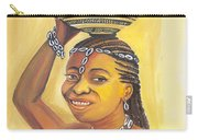 Rural Woman From Cameroon Carry-all Pouch