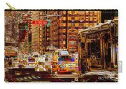 Rush Hour - Traffic In New York Carry-all Pouch