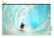 Rushing Beauty- Surfing Art Carry-all Pouch