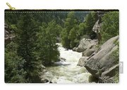 Rushing Water In Boulder Canyon Carry-all Pouch