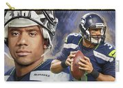 Russell Wilson Artwork Carry-all Pouch
