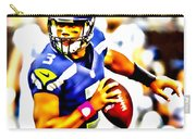 Russell Wilson In The Pocket Carry-all Pouch