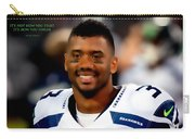 Russell Wilson Quote Carry-all Pouch
