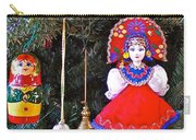 Russian Christmas Tree Decoration In Fredrick Meijer Gardens And Sculpture Park In Grand Rapids-mi Carry-all Pouch