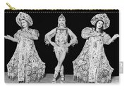 Russian Claudia Ballet Dancers Carry-all Pouch by Underwood Archives