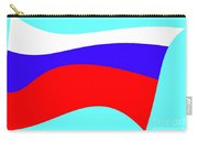 Russian Flag Carry-all Pouch by Lali Kacharava
