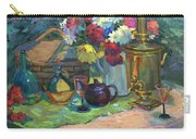 Russian Picnic Still Life Carry-all Pouch