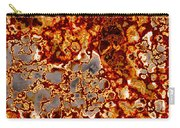 Rust-coloured Quartz Carry-all Pouch
