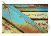 Rust N Turquoise Carry-all Pouch