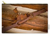 Rust Trapped On A Log - Old Trap - Casper Wyoming Carry-all Pouch