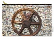 Rusted Gear Wheel Glacier National Park Montana Carry-all Pouch