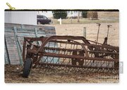 Rusted Hay Rake Carry-all Pouch