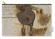 Rusted Lock Carry-all Pouch