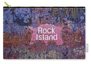 Rusted Rock Island Line Train Car Carry-all Pouch