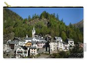 Rustic Alpine Village Carry-all Pouch