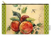 Rustic Apples On Moroccan Carry-all Pouch
