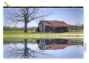 Rustic Barn Carry-all Pouch by David Troxel