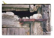 Rustic Barn Door Carry-all Pouch