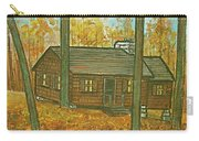 Rustic Cabin At Lake Hope Ohio Carry-all Pouch
