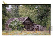 Rustic Cabin In The Mountains Carry-all Pouch