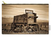 Rustic Covered Wagon Carry-all Pouch