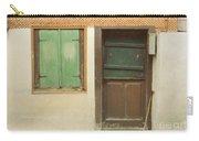 Rustic Door Carry-all Pouch
