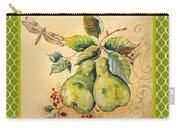 Rustic Pears On Moroccan Carry-all Pouch