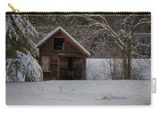 Rustic Shack After The Storm Carry-all Pouch