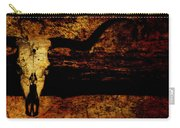 Rustic Steer Carry-all Pouch
