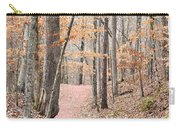 Rustic Trails In January 2013 Carry-all Pouch