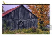 Rustic Vermont Barn Carry-all Pouch