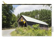 Rustic Vermont Covered Bridge Carry-all Pouch