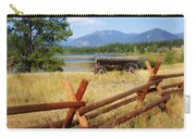 Rustic Wagon Carry-all Pouch by Marty Koch