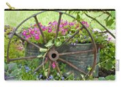Rustic Wheel Digital Artwork Carry-all Pouch