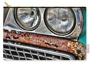 Rusty 1959 Ford Station Wagon - Front Detail Carry-all Pouch