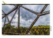 Rusty Bridge In Fall Carry-all Pouch