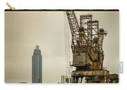 Rusty Cranes At Battersea Power Station Carry-all Pouch