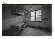 Rusty Desk Bw Carry-all Pouch