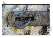 Rusty Dusty And Grimy Lock Plate Carry-all Pouch