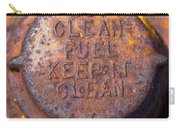 Rusty Gas Tank Cap Carry-all Pouch