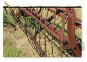 Rusty Hay Rake Carry-all Pouch