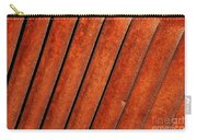 Rusty Hood Louvers Carry-all Pouch