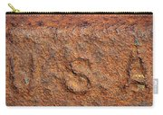 Rusty Letters Usa Carry-all Pouch