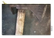Rusty Old Axe Carry-all Pouch by Carlos Caetano