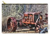 Rusty Old Tractor Carry-all Pouch