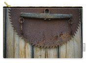 Rusty On The Wall Carry-all Pouch