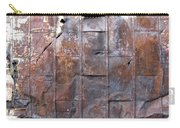 Rusty Plate Door 2 Carry-all Pouch