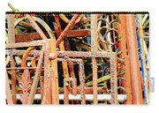 Rusty Railings Square Carry-all Pouch